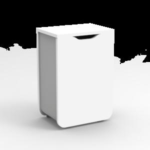 poubelle blanche