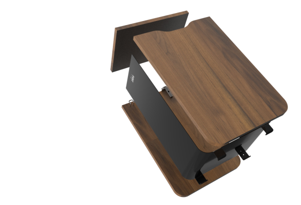 borne de tri en bois entièrement recyclable, pour le tri des déchets